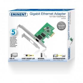 EMINENT GIGABIT ETHERNET ADAPTER PCI-EXPRESS