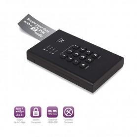 EWENT ENCRYPTED BOX HARD DISK 2.5 SATA USB 3.1