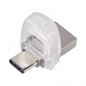 KINGSTON FLASH DRIVE USB3.1 TYPE C DATA TRAVELER MICRODUO 3C